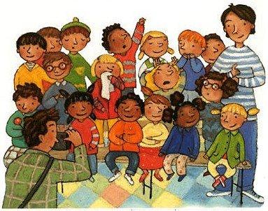 Vie d'une classe maternelle de Petits/Moyens dans 0 - Accueil ecole
